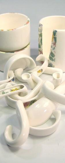Tea Cup Parts